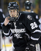 Steven Shamanski (PC - 28) - The Boston College Eagles defeated the Providence College Friars 4-2 in their Hockey East semi-final on Friday, March 16, 2012, at TD Garden in Boston, Massachusetts.