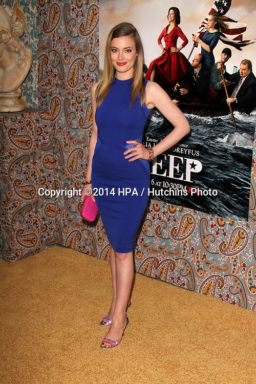 "LOS ANGELES - MAR 24:  Gillian Jacobs at the ""VEEP"" Season 3 LA Premiere at Paramount Studios on March 24, 2014 in Los Angeles, CA"
