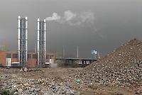 - abandoned industrial area in Milan Lambrate, central heating plant of a residential district....- zona industriale abbandonata a Milano Lambrate, impianto di riscaldamento centralizzato di un quartiere residenziale