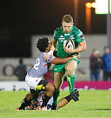 9th September 2017, Galway Sportsground, Galway, Ireland; Guinness Pro14 Rugby, Connacht versus Southern Kings; Matt Healy on an attacking run for Connacht