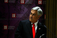 18.10.2010 - LSE Presents: Sebastián Pinera, President Of The Republic Of Chile