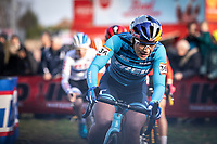Evie Richards (GBR/Trek Factory Racing CX)<br /> <br /> <br /> Elite Womens Race <br /> UCI Cyclocross Worldcup – Hoogerheide (Netherlands)<br /> ©kramon