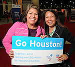 Seensters at the Houston Marathon Expo at the George R. Brown Convention Center Friday Jan. 16,2015.(Dave Rossman For the Chronicle)