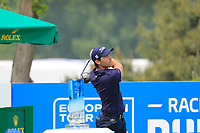 Julien Guerrier (FRA) in action during the final round of the Volvo China Open played at Topwin Golf and Country Club, Huairou, Beijing, China 26-29 April 2018.<br /> 29/04/2018.<br /> Picture: Golffile | Phil Inglis<br /> <br /> <br /> All photo usage must carry mandatory copyright credit (&copy; Golffile | Phil Inglis)