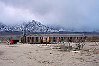 Restored Mess Hall at Manzanar National Historic Site