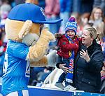 24.3.2018: Rangers legends match:<br /> Rangers fans