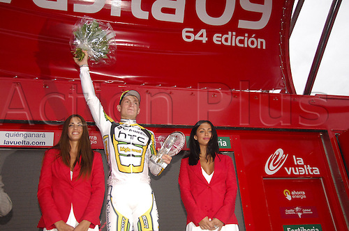 1st September 2009, Vuelta a Espana, Stage 4 Venlo - Liegi, Columbia - High Road, Greipel Andr. Photo: Stefano Sirotti/ActionPlus.
