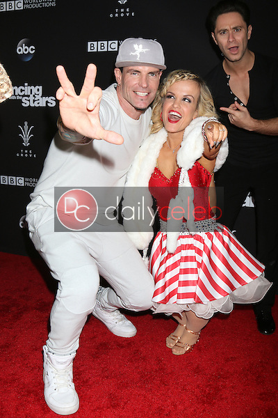 """Vanilla Ice, Robert Matthew Van Winkle, Terra Jole<br /> at the """"Dancing With The Stars"""" Live Finale, The Grove, Los Angeles, CA 11-22-16<br /> David Edwards/DailyCeleb.com 818-249-4998"""