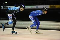 SCHAATSEN: UTRECHT: 01-01-2018, NK Marathonschaatsen, ©foto Martin de Jong