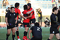 Teikyo University team group, JANUARY 8, 2012 - Rugby: The 48th All Japan University Rugby Championship Final between Teikyo University 15-12 Tenri University at National Stadium, Tokyo, Japan. (Photo by YUTAKA/AFLO SPORT) [1040]