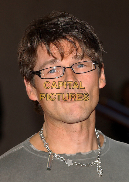 MORTEN HARKETT - AHA A HA A-HA.The 2006 Brit Awards with Mastercard at Earls Court, London, UK..February 15th 2006.Ref: BEL.headshot portrait glasses silver necklace brits.www.capitalpictures.com.sales@capitalpictures.com.© Capital Pictures.