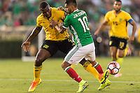 Pasadena, CA - Thursday June 09, 2016: Westley Morgan during a Copa America Centenario Group C match between Mexico (MEX) and Jamaica (JAM) at Rose Bowl Stadium.