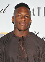Maro Itoje at the Lux Afrique gala dinner, Claridge's Hotel, Brook Street, London, England, UK, on Sunday 01 October 2017.<br /> CAP/CAN<br /> &copy;CAN/Capital Pictures