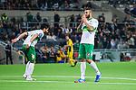 Stockholm 2014-03-04 Fotboll Svenska Cupen Hammarby IF - &Auml;ngelholms FF :  <br /> Hammarbys Andreas Haddad ser uppgiven ut efter en m&aring;lchans f&ouml;r Hammarby <br /> (Foto: Kenta J&ouml;nsson) Nyckelord:  HIF Bajen &Auml;ngelholm depp besviken besvikelse sorg ledsen deppig nedst&auml;md uppgiven sad disappointment disappointed dejected