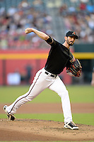 Arizona Diamondbacks pitcher Brandon McCarthy (32) during a game against the Washington Nationals at Chase Field on September 28, 2013 in Phoenix, Arizona.  Washington defeated Arizona 2-0.  (Mike Janes/Four Seam Images)