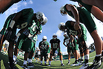 Images from a variety of practices with the 2013 Tulane Green Wave football team.