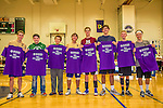 9 November 2013: The 2013 All-League Vermont High School Boys Volleyball team is presented at the Annual State Championships held at Johnson State College in Johnson, Vermont. High School Volleyball has been granted a two-year exhibition status in the State of Vermont starting with the 2013 season, in effort to attain full varsity status. Mandatory Credit: Ed Wolfstein Photo *** RAW (NEF) Image File Available ***