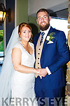 Karena O'Driscoll and Joseph O'Brien were married at St. Mary's Church Listowel by Fr. Declan O'Connor on Saturday 21st October 2017 with a reception at the Rose Hotel