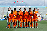 17th November 2019; Bezerrao Stadium, Brasilia, Distrito Federal, Brazil; FIFA U-17 World Cup football 3rd placed game 2019, Netherlands versus France; Players of Netherlands pose for official photo before the match<br />  - Editorial Use