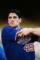 Carl Pavano of the Montreal Expos during a game against the Los Angeles Dodgers at Dodger Stadium circa 1999 in Los Angeles, California. (Larry Goren/Four Seam Images)