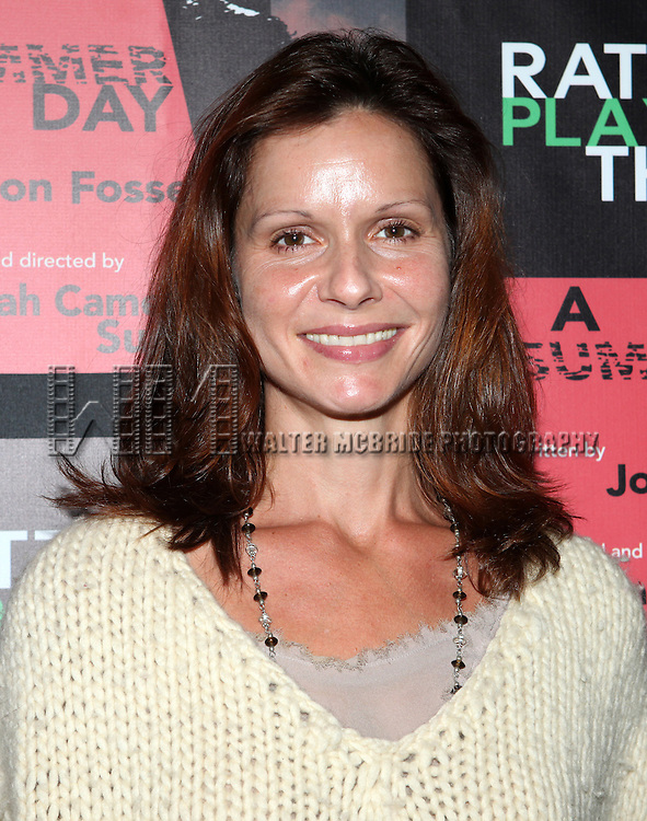 Florencia Lozano attending the Opening Night Performance of The Rattlestick Playwrights Theater Production of 'A Summer Day' at the Cherry Lane Theatre on 10/25/2012 in New York.