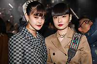 Emma and Kozue Akimoto in the front row<br /> <br /> Dior Homme show, Front Row, Pre Fall 2019, Tokyo, Japan - 30 Nov 2018<br /> CAP/SAT<br /> &copy;Satomi Kokubun/Capital Pictures