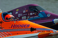 (front to rear):Mike Hodges, #624 and Nancy Landgraf, #873(Sport C Tunnel Boat(s)