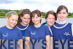 Flesk Valley crew who rowed at the Callinafercy Regatta on Sunday l-r: Katie McAulliffe, Michelle Griffin, Emma Fitzgerald, Niamh O'Raw and Niamh Cronin   Copyright Kerry's Eye 2008