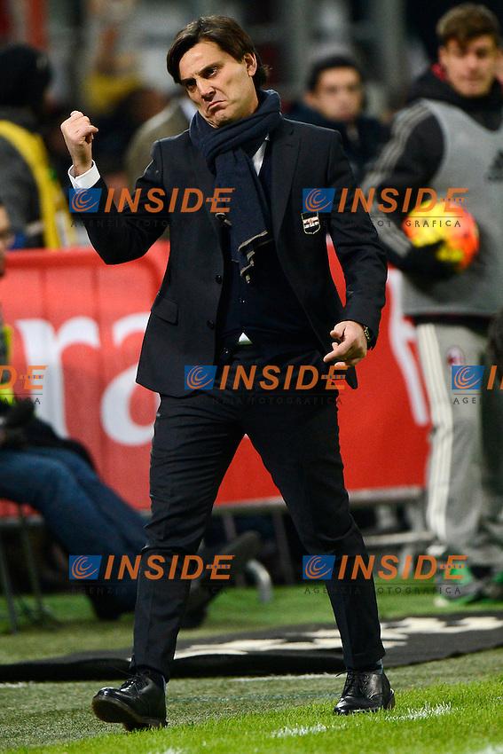 Vincenzo Montella Sampdoria<br /> Milano 28-11-2015 Stadio Giuseppe Meazza - Football Calcio Serie A Milan - Sampdoria. Foto Giuseppe Celeste / Insidefoto