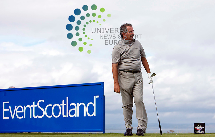 The Cleveland Golf / Srixon Scottish Senior Open Championship 2010..20/08/10..Former Ryder Cup Capt Sam Torrance , in today's Scottish Senior  Open Championship...At  The Torrance Course, The Fairmont,  St Andrews, Fife, Scotland .Picture: Mark Davison/Universal News and Sport. 20 August 2010.