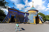 "Sweden. Hagaparken (""Haga Park""), or simply Haga in Solna just north of Stockholm. The Copper Tents."