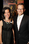Stacie Cokinos and John Palmer at the San Jose Clinic Art with Heart Gala at the InterContinental Hotel Saturday May 15,2010.  (Dave Rossman Photo)