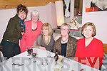 Celebrating Women's Christmas at Mai Fitz's Restaurant, Listowel on Friday night last were Anne Hilliard, Dolores O'Connor, Breda Lyons, Mary Carey & Maud Kelly.