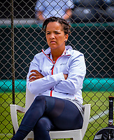 Den Bosch, Netherlands, 12 June, 2018, Tennis, Libema Open, coach Selma Androde (NED)<br /> Photo: Henk Koster/tennisimages.com