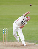 Darren Stevens bowls for Kent during the County Championship Division Two game between Kent and Northants at the St Lawrence ground, Canterbury, on Sept 4, 2018.