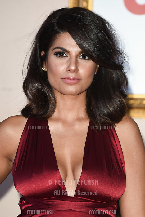 """LONDON, UK. November 21, 2018: Ruby Bhogal at the """"Surviving Christmas with the Relatives"""" premiere at the Vue Leicester Square, London.<br /> Picture: Steve Vas/Featureflash"""