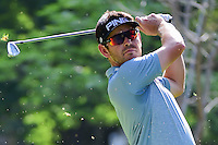 Louis Oosthuizen (RSA) watches his tee shot on 7 during round 2 of the World Golf Championships, Mexico, Club De Golf Chapultepec, Mexico City, Mexico. 3/3/2017.<br />