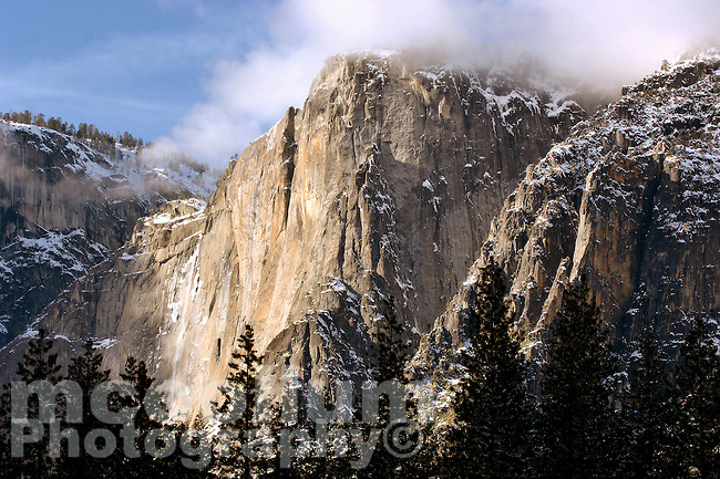 20080205 -- .Michael McCollum.Iconic Yosemite Falls in spectacular Yosemite National Park.