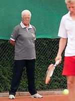12-8-09, Den Bosch,Nationale Tennis Kampioenschappen, 1e ronde,  scheidsrechter