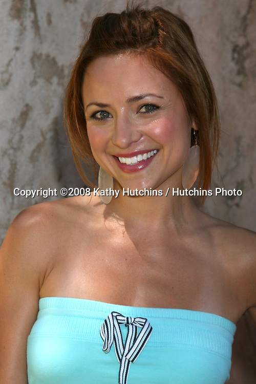 "Christine Lakin.""The Simpson's Ride"" Grand Opening.Universal Studios Theme Park.Los Angeles, CA.May 17, 2008.©2008 Kathy Hutchins / Hutchins Photo ."