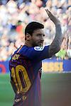 53e Trofeu Joan Gamper.<br /> Presentation 1st team FC Barcelona.<br /> Lionel Messi.