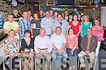 Richard Morrisson Killorglin seated centre celebrated his 40th birthday with his family and friends in the Fishery bar Killorglin on Saturday night..
