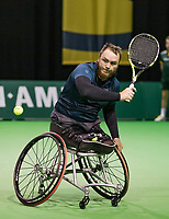 Rotterdam, The Netherlands, 13 Februari 2019, ABNAMRO World Tennis Tournament, Ahoy, first round wheelchair singles: Nicolas Peifer (FRA),<br /> Photo: www.tennisimages.com/Henk Koster