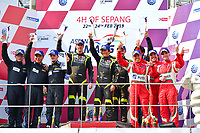 #11 CAR GUY (JPN) FERRARI 488 GT3 GT TAKESHI KIMURA (JPN) KEI COZZOLINO (JPN) JAMES CALADO (GBR) WINNER GT<br /> #88 TIANSHI RACING TEAM (CHN) AUDI R8 LMS GT XU WEI (CHN) CHEN WEI AN (CHN) DRIES VANTHOOR (BEL) SECOND GT<br /> #51 SPIRIT OF RACE (SUI) FERRARI 488 GT3 GT ALESSANDRO PIER GUIDI (ITA) OSWALDO NEGRI JR (USA) FRANCESCO PIOVANETTI (USA) THIRD GT