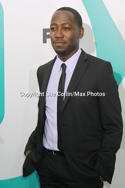 "New Girl's Lamorne Morris ""Winston"" at The Fox 2012 Programming Presentation on May 14, 2012 at Wollman Rink, Central Park, New York City, New York. (Photo by Sue Coflin/Max Photos) 917-647-8403"