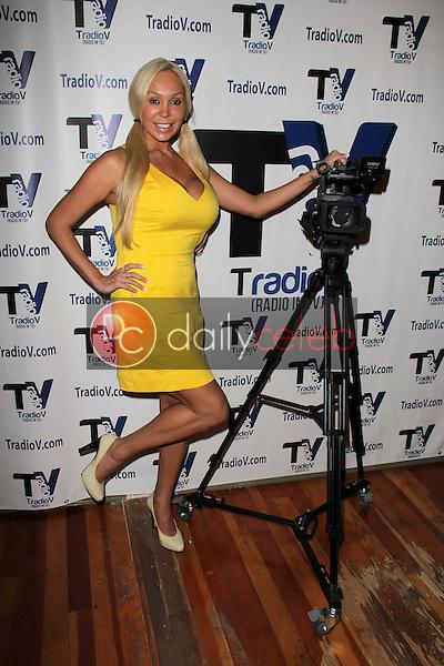 "Mary Carey<br /> on the set of ""Politically Naughty with Mary Carey,"" TradioV Studios, Los Angeles, CA 10-07-13<br /> Dave Edwards/DailyCeleb.com 818-249-4998"