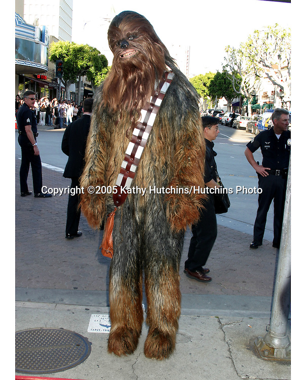 Chewbacca.Star Wars 3 :  The Revenge of the Sith Premier.Mann's Village Theater.Westwood,  CA.May 12, 2005.©2005 Kathy Hutchins / Hutchins Photo