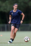 CARY, NC - JUNE 22: Abby Erceg. The North Carolina Courage held a training session on June 22, 2017, at WakeMed Soccer Park Field 7 in Cary, NC.