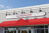 A Hanesbrands store is pictured at Lee Premium Outlets in Lee (MA), Tuesday October 1, 2013.