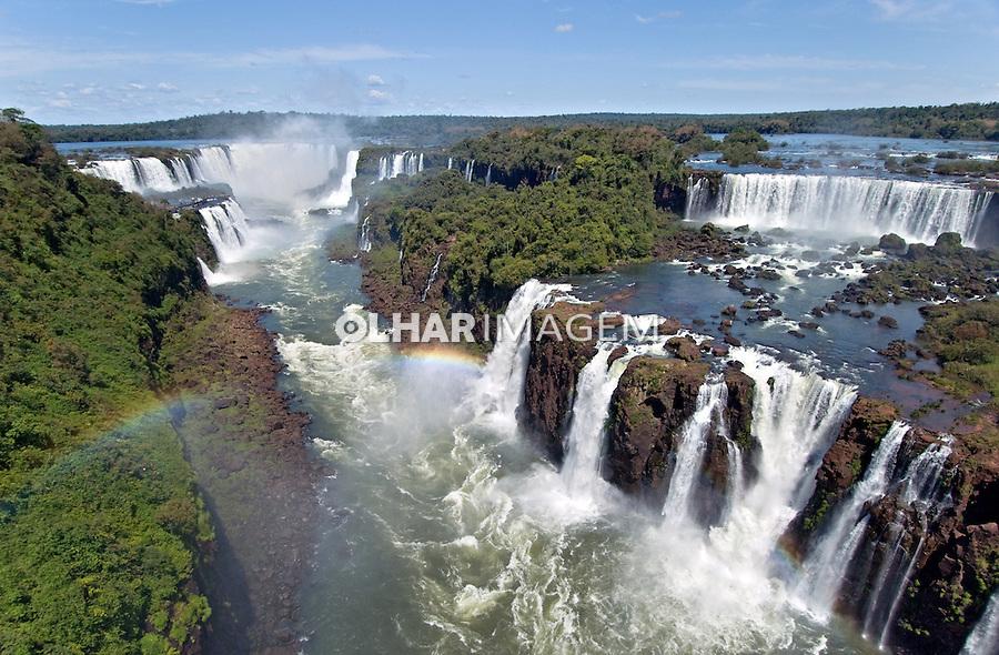 Cataratas do Iguaçu no Parque Nacional do Iguaçu. Foto Zig Koch.